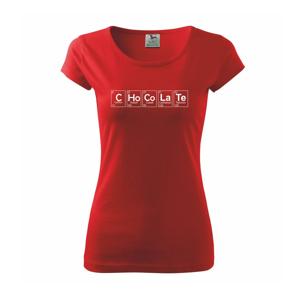 Čokoláda - periodická tabuľka - Pure dámske tričko