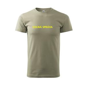 Colná správa - Tričko Basic Extra veľké