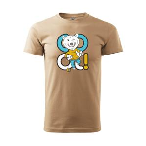 Cool medveď - Heavy new - tričko pánske