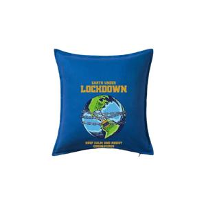 Corona lockdown earth - Vankúš 50x50