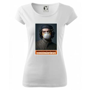 Corona Revolution and resist  - Pure dámske tričko