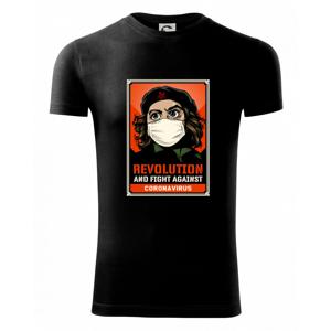 Corona Revolution & Fight - Viper FIT pánske tričko