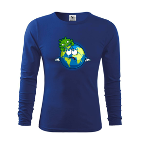 Corona Save The Earth - Tričko detské Long Sleeve
