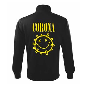 Corona žlté logo - Mikina bez kapucne Adventure