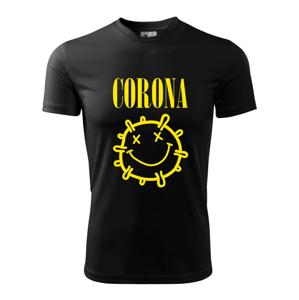 Corona žlté logo - Pánske tričko Fantasy športové