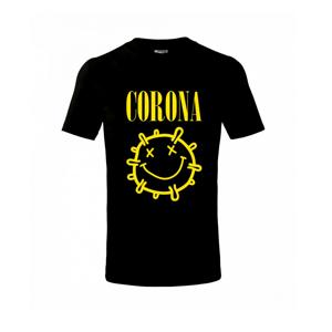 Corona žlté logo - Tričko detské basic