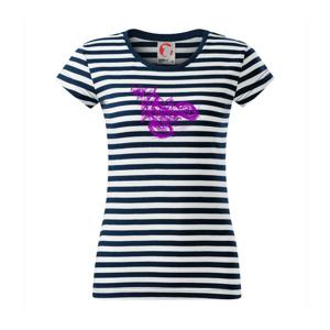 Crosska fialová - Sailor dámske tričko