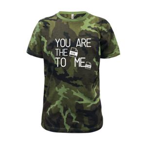 CSS to me HTML - Detské maskáčové tričko