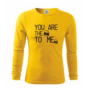CSS to me HTML - Tričko s dlhým rukávom FIT-T long sleeve