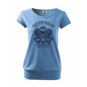 Custom Garage - Voľné tričko city
