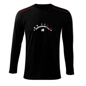 dB merač - Tričko s dlhým rukávom Long Sleeve