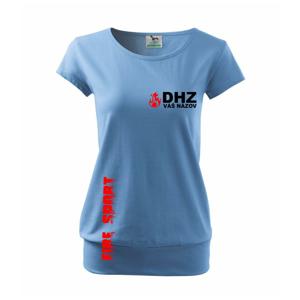 DHZ (oheň, firesport, názov sboru - vlastný nápis) - Voľné tričko city
