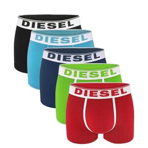 DIESEL - 5PACK cotton stretch color boxerky - limitovaná edícia -L (84-89 cm)