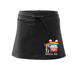 Dievčatá na výlete - Športová sukne - two in one