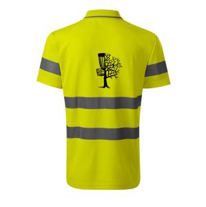 Disc golf pozor strom - HV Runway 2V9 - Reflexné polokošeľa