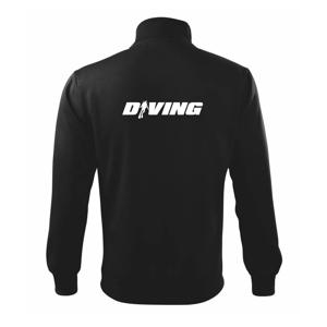 Diving nápis potápač - Mikina bez kapucne Adventure