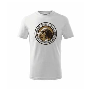 Dog beagle - Tričko detské basic