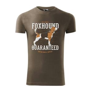 Dog foxhound - Viper FIT pánske tričko