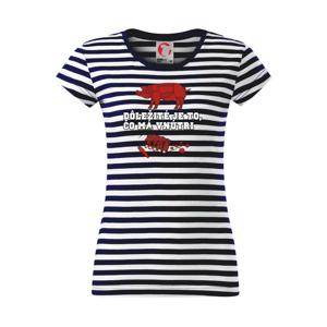 Dôležité je to, čo má vnútri - Sailor dámske tričko
