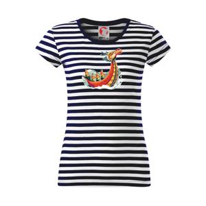Dračí lode pri závode - Sailor dámske tričko