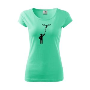 Dron na kábli - Pure dámske tričko