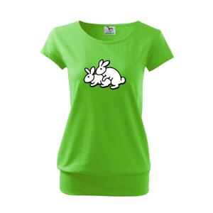 Dupkajúce králiky - Voľné tričko city