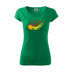 Dva bežiace kone - Pure dámske tričko