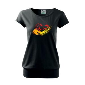 Dva bežiace kone - Voľné tričko city