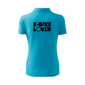 E-bike lover - Polokošeľa dámska Pique Polo