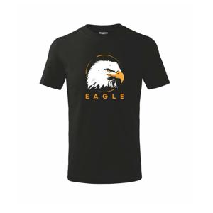Eagle hlava - Tričko detské basic