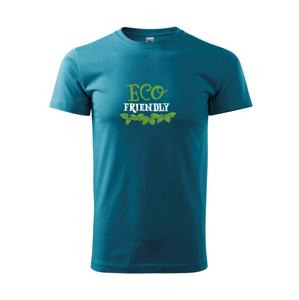 Eco friendly - lístočky - Heavy new - tričko pánske
