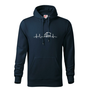 EKG autobus - Mikina s kapucňou hooded sweater