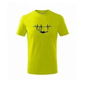 EKG bungee jumping - Tričko detské basic