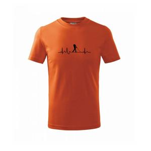 EKG golf - Tričko detské basic