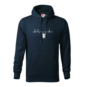 EKG hojdačka - Mikina s kapucňou hooded sweater