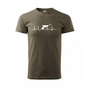 EKG koliesko - Tričko Basic Extra veľké