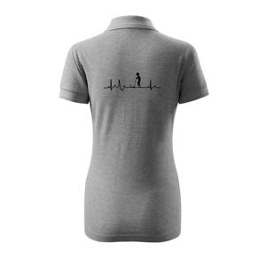 EKG kroket - Polokošeľa dámska Pique Polo