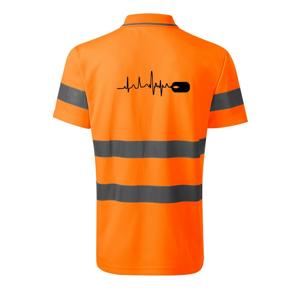 EKG myš - HV Runway 2V9 - Reflexné polokošeľa