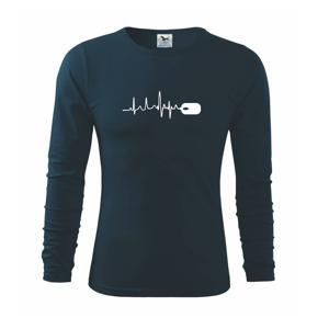 EKG myš - Tričko s dlhým rukávom FIT-T long sleeve