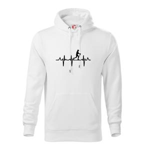 EKG nordic walking - Mikina s kapucňou hooded sweater