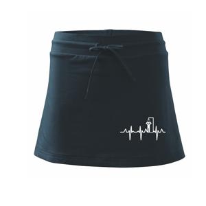 EKG otužovanie sprcha - Športová sukne - two in one