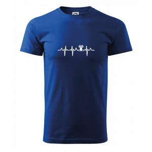 EKG otužovanie - Tričko Basic Extra veľké