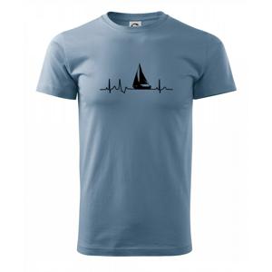 EKG plachetnica - Heavy new - tričko pánske