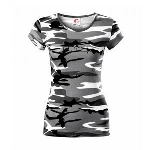 EKG prekážkový beh - Dámske maskáčové tričko