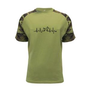 Ekg psie obrys - Raglan Military