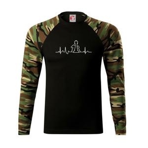 EKG šach - Camouflage LS