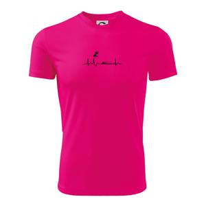 EKG skok do diaľky - Detské tričko fantasy športové tričko