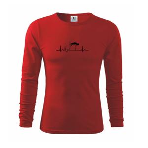 EKG skok do výšky - Tričko s dlhým rukávom FIT-T long sleeve