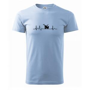 EKG snežná fréza - Heavy new - tričko pánske