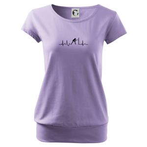 Ekg squash muž-žena - Voľné tričko city